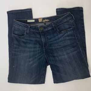 Kut from the Kloth Emma Straight Leg Jeans Size 10